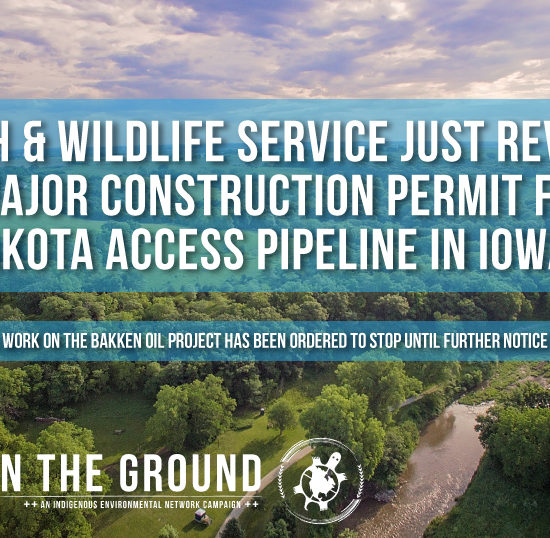 Keepitintheground an ic ien collaboration for Fish and wildlife permit