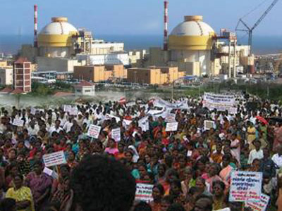 Ongoing Anti-nuclear protests in Koodankulam, India