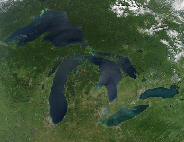 greatlakes600 Cloudless Day
