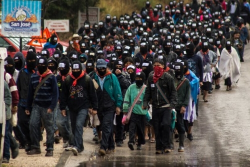 As the Maya calendar ends, a new cycle of struggle begins with thousands of Zapatistas peacefully and silently occupying town squares across Chiapas.