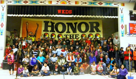 The last day of the Moccasins on the Ground gathering and training in Pine Ridge, S.D. (Moccasins on the Ground)