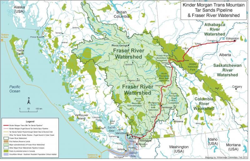 KMpipeline_Fraser_watershed_Map