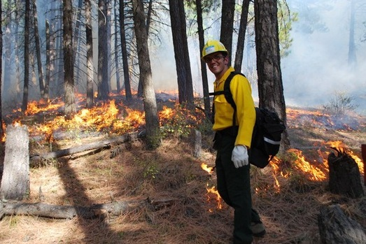 Fire management planning on Salish and Kootenai tribal lands in Montana. (Photo: U.S. Fish and Wildlife Service)