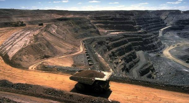 Rio Tinto & Ivanhoe Mines: The Oyu Tolgoi open pit in the Gobi desert.