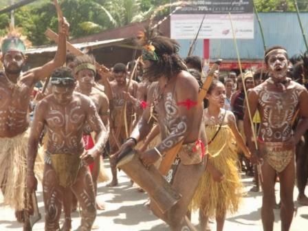 Traditional Cultural Action, Jayapura, 17 February 2014