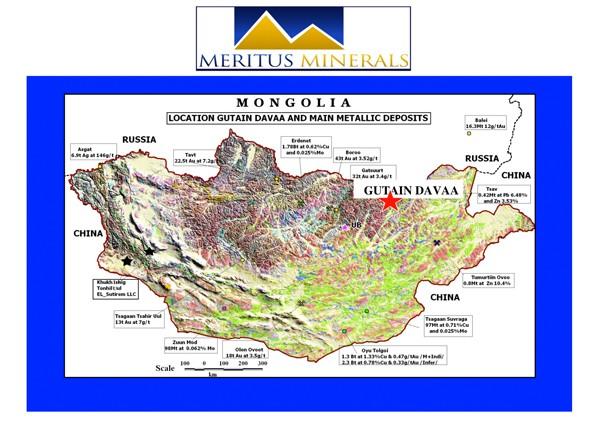 Meritus Minerals Mongolia