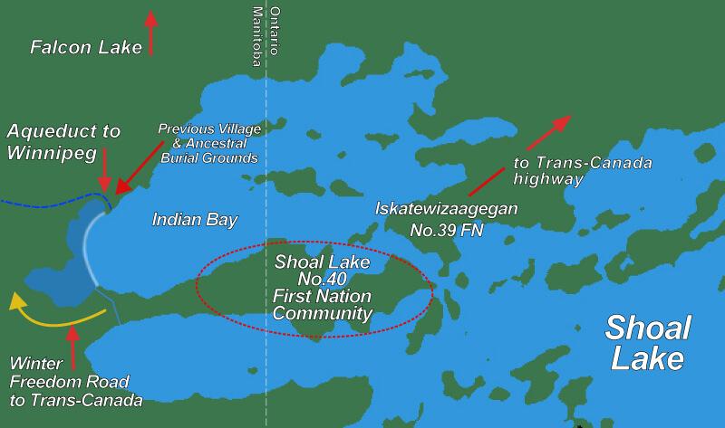 Map by Ken Harasym