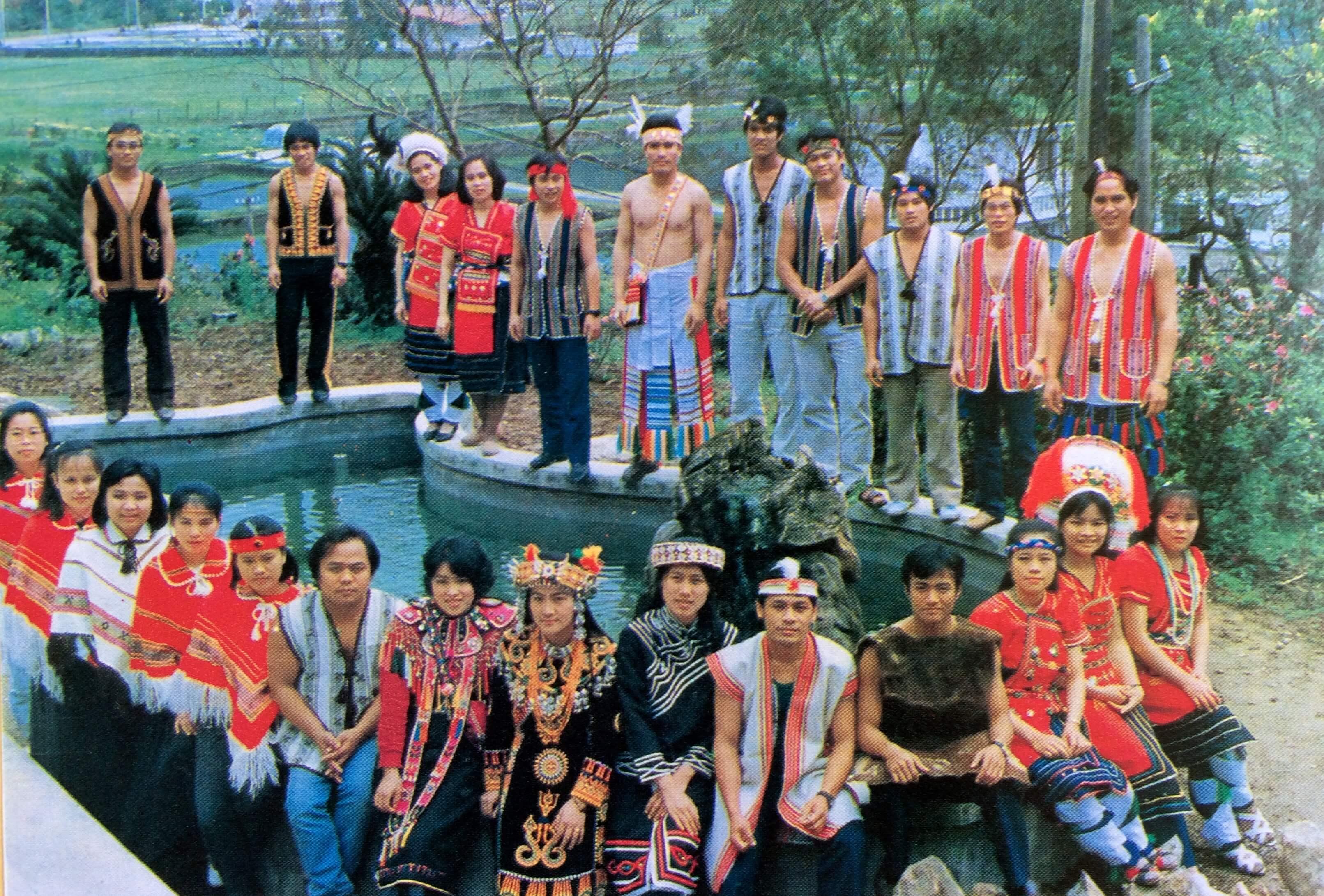 Formosan tribal students