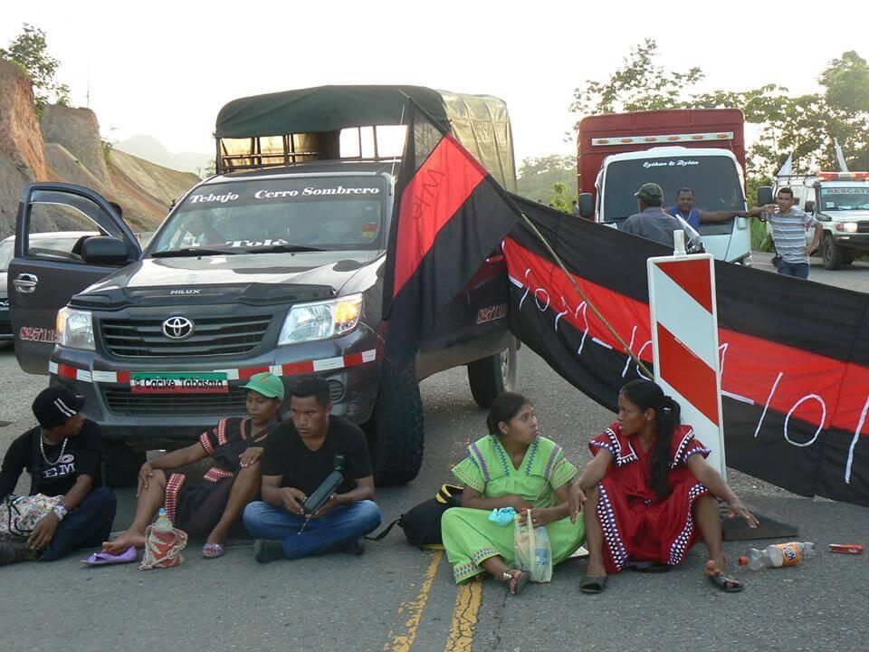 Ngäbe protesters (Photo: Jennifer Kennedy)