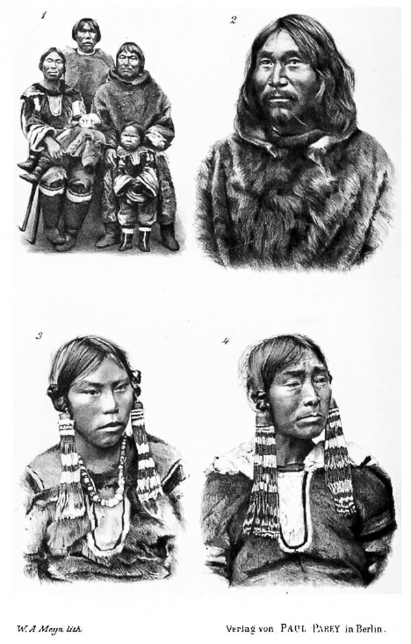 eight labrador inuit trapped in a 19th century human zoo