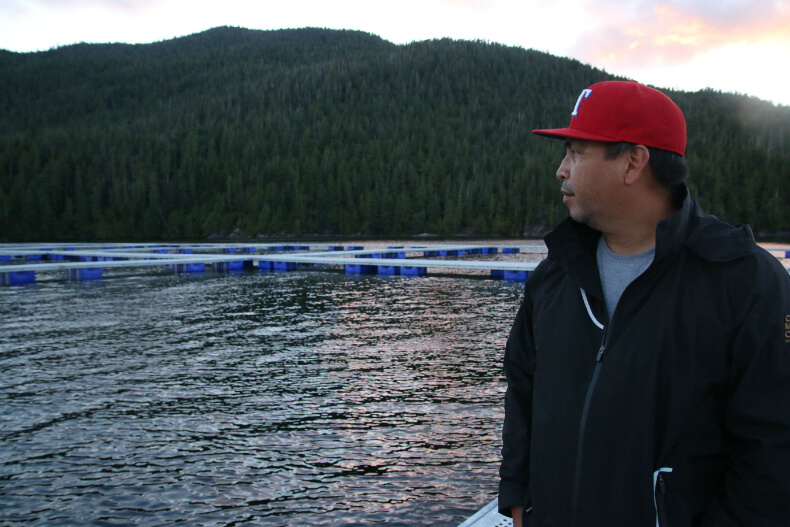 , Pulling Anchor on Cermaq in Clayoquot
