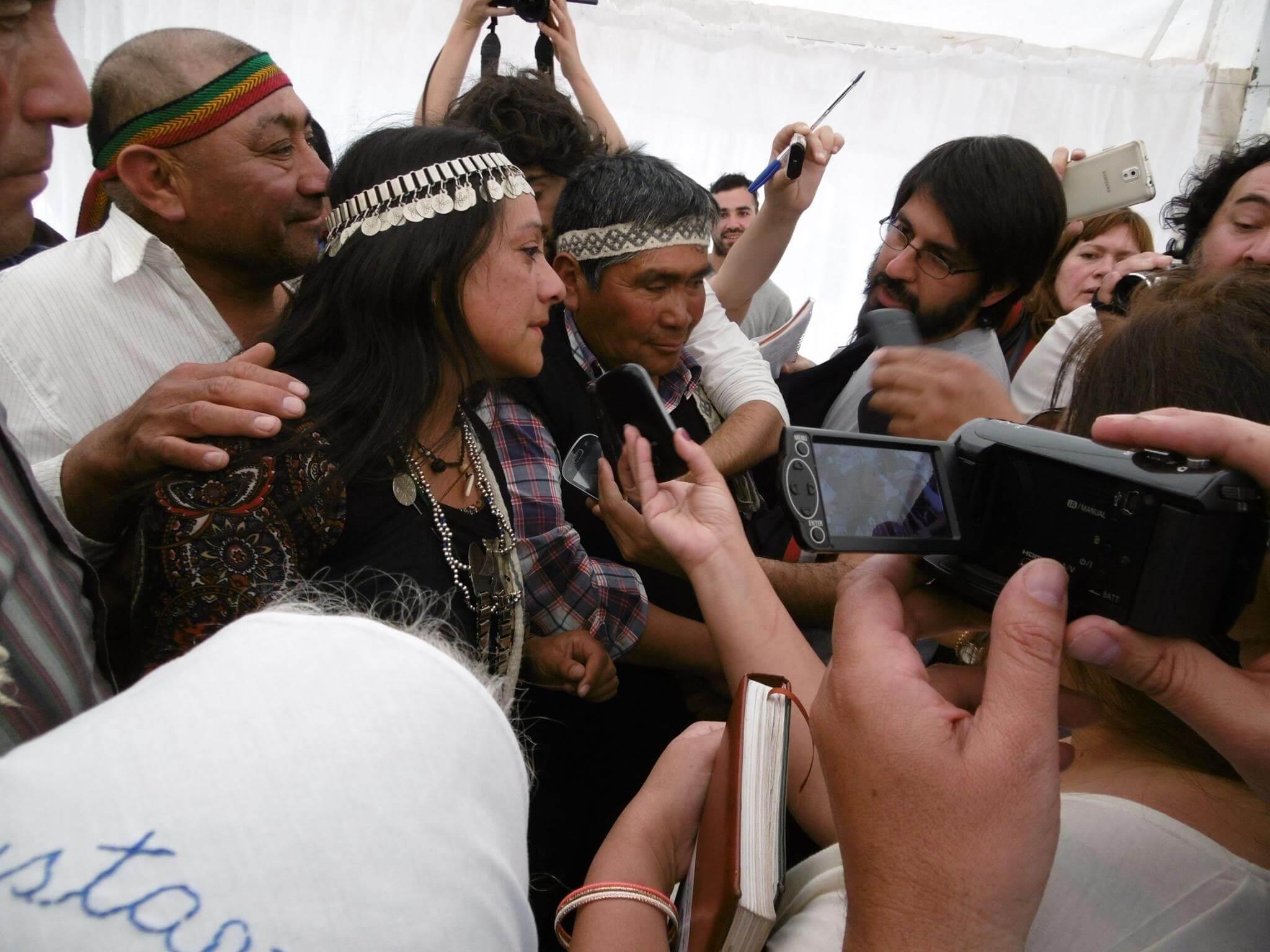 Interviews with the Press (Photo: Ruben Curricoy Nañko)