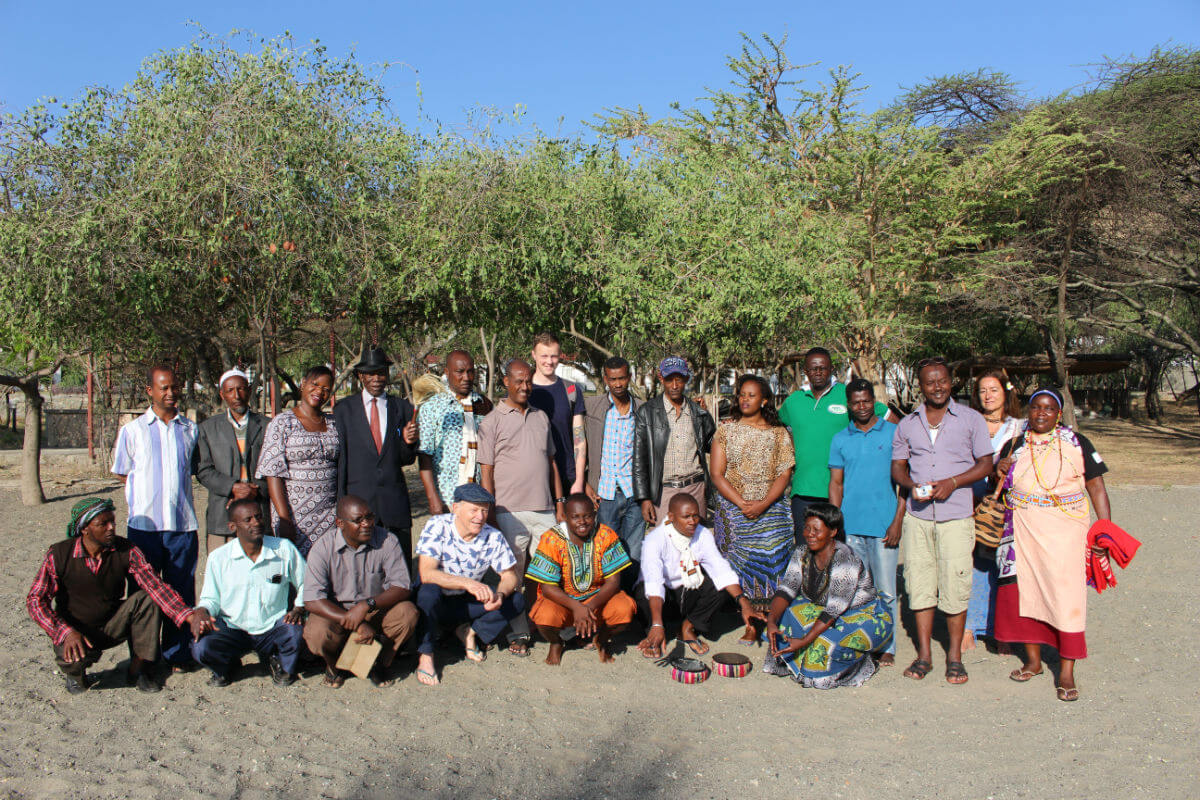 Meeting of sacred site custodians at Lake Langano, Ethiopia 2015  (Photo: The Gaia Foundation)
