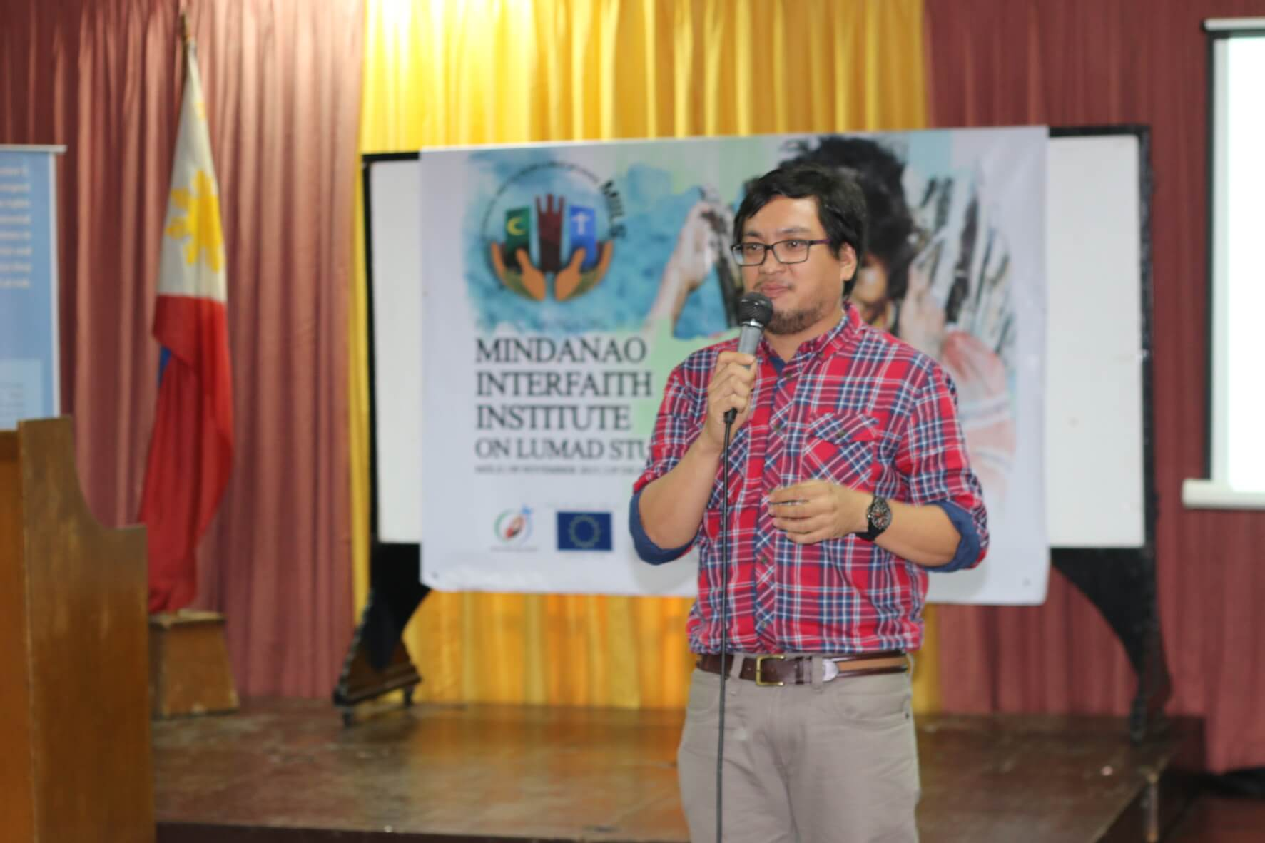 Prof. Arnold Alamon, Executive Director of the newly-estanlished MIILS
