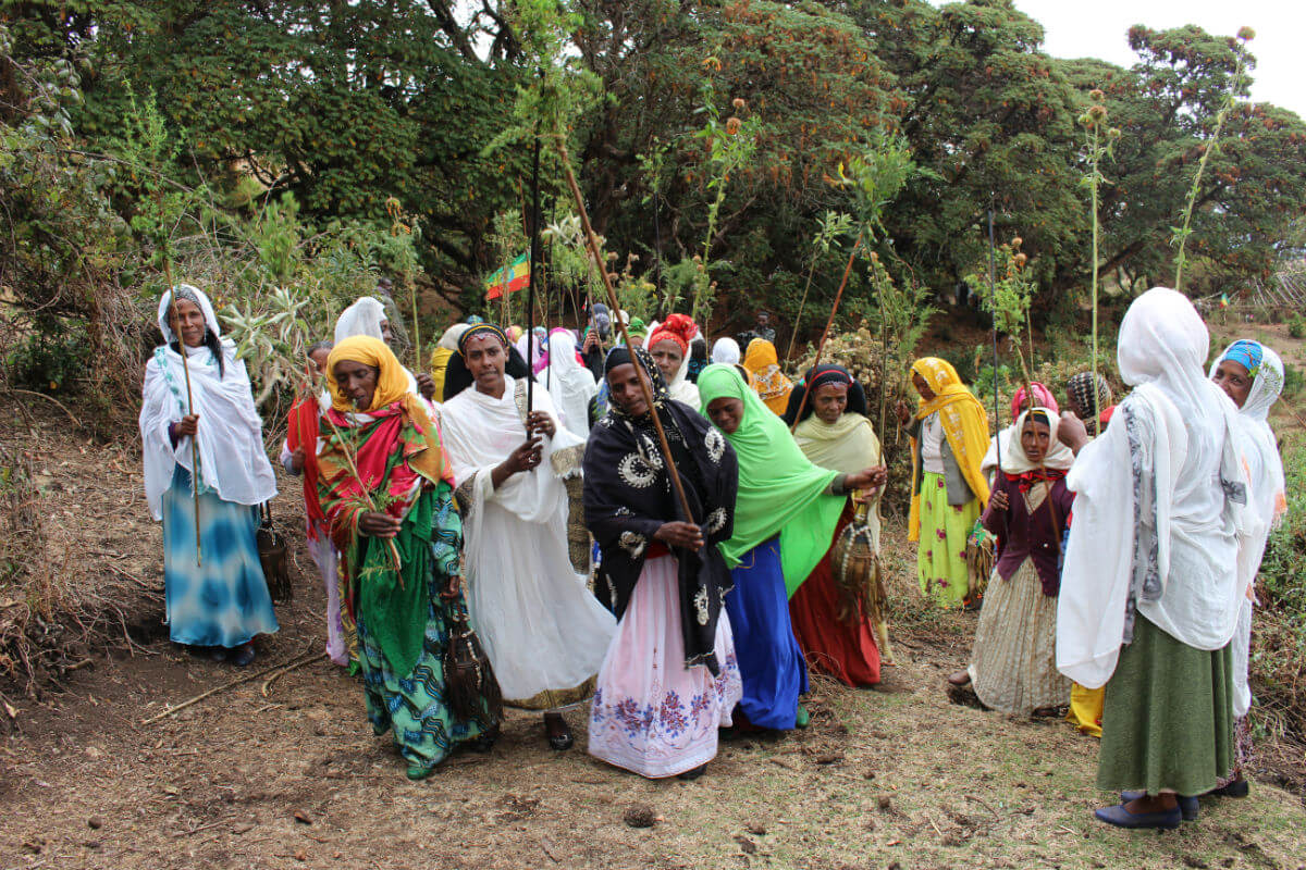 Sacred site custodians from Bale Ethiopia. (Photo :Tamara Korur)