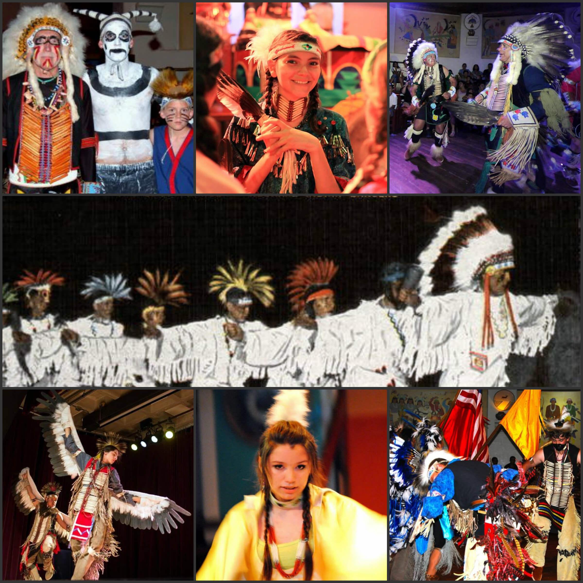 Koshare Indian Dancers