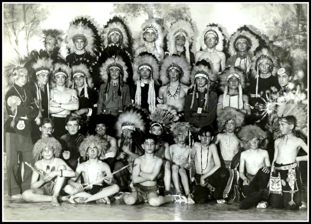 Koshare Dancers, 1937