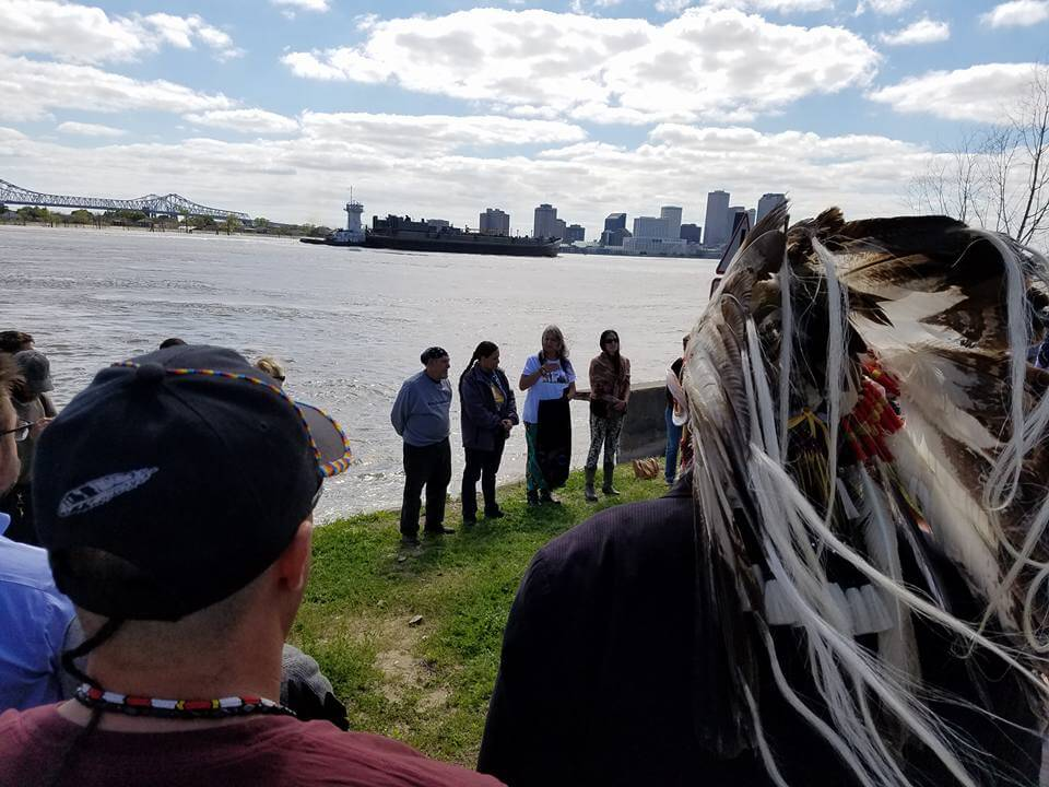 Water Ceremony in New Orleans. Photo: Indigenous Environmental Network