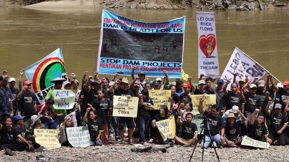Baram Dam blockade. SAVE Rivers