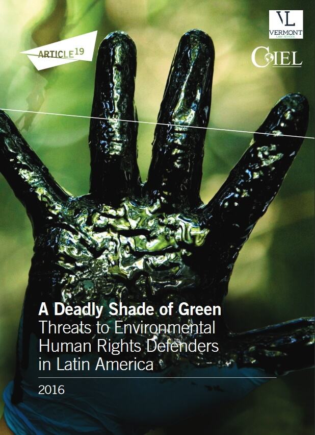 , Deadly Shade of Green