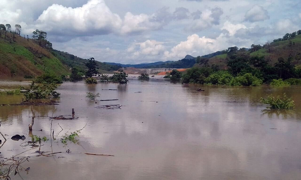 Floodwaters from the Barro Blanco dam have  submerged communities and forests. Photo: Chiriquí Natural
