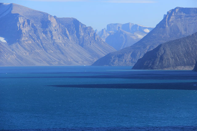 The sublime majesty and otherworldly grandeur of Baffin Island. Note the lack of glaciated land. (Photo: Chris Williams)