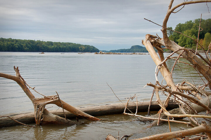 The Missouri River. Photo: Dave Herholz/Flickr. Some Rights Reserved