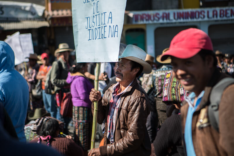 , Indigenous communities bring Guatemala to a standstill