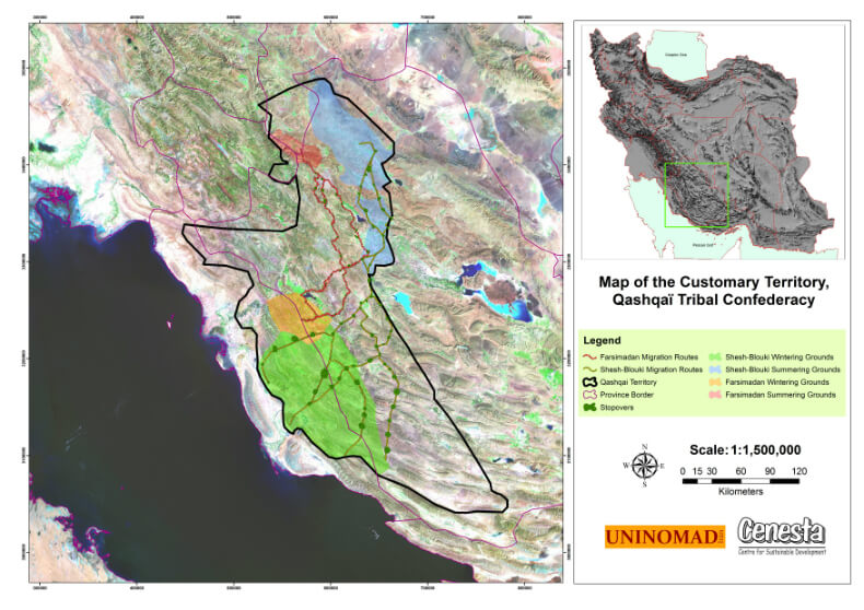 , How indigenous nomadic pastoralists in Iran are using GIS maps to defend and conserve their territories