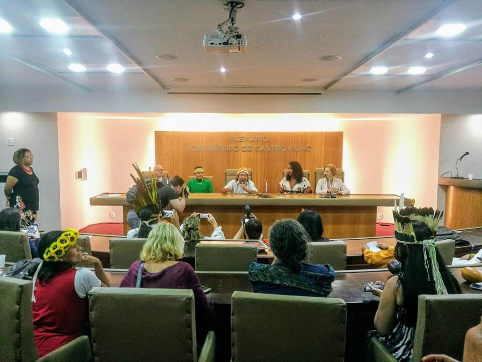 , 518 Years Later: Rio's Indigenous Peoples Launch State Council for Indigenous Rights