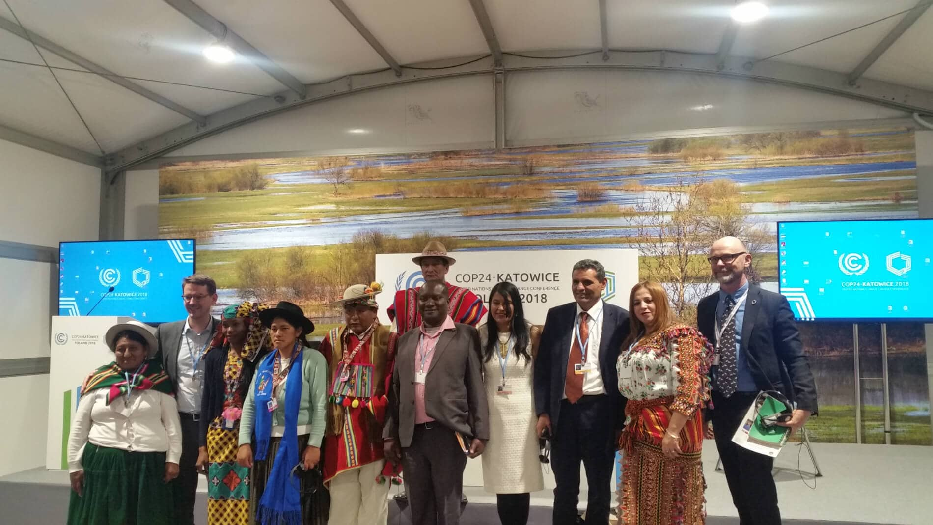 , Integrating indigenous knowledge into national climate adaptation plans at COP24