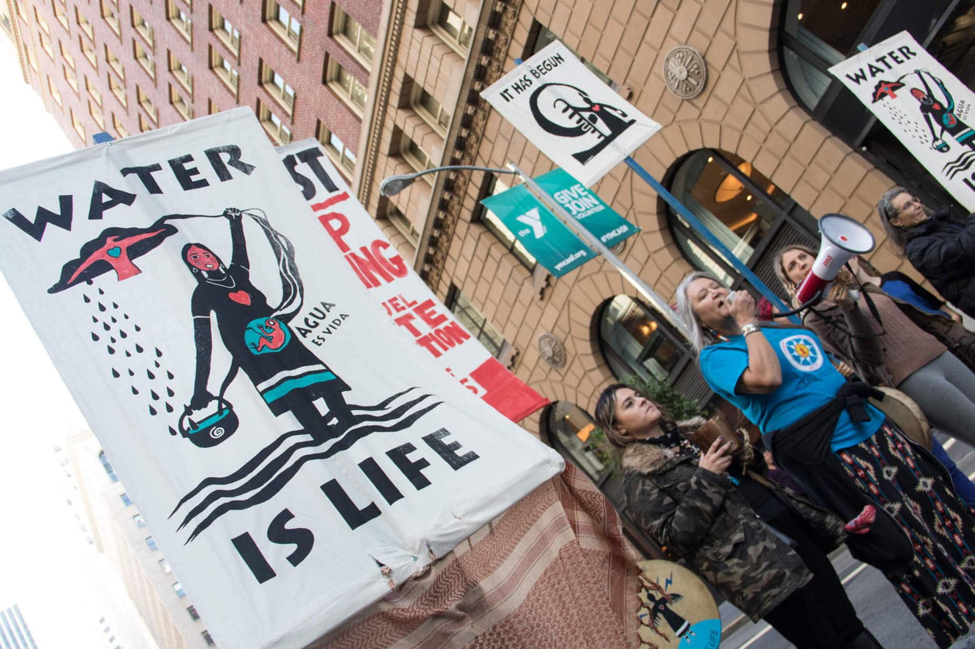 , A coalition is suing South Dakota for its new law against pipeline protests