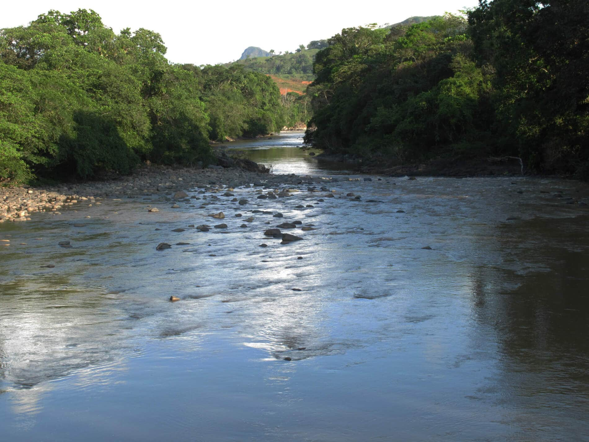 , For the defense of the common goods in the Tabasará River