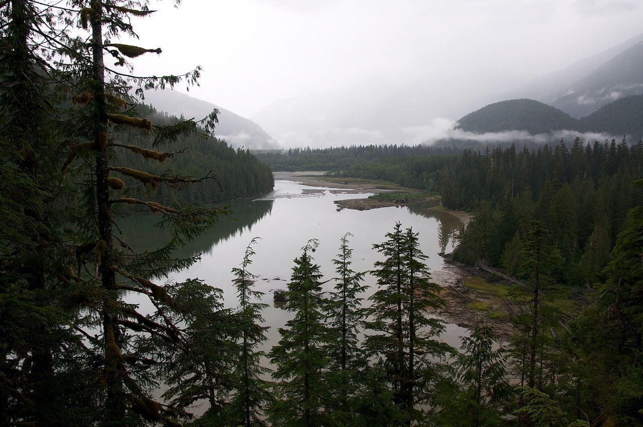 Kitlope Lake in the Kitlope Heritage Conservancy.