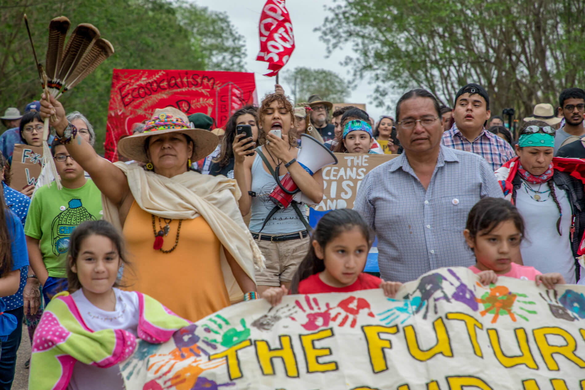 Climate March against the Border Wall