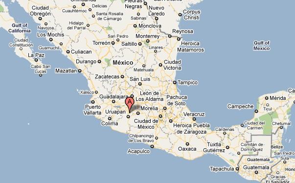 Maps Of Mexico Mapas Google Maps Mexico Guru