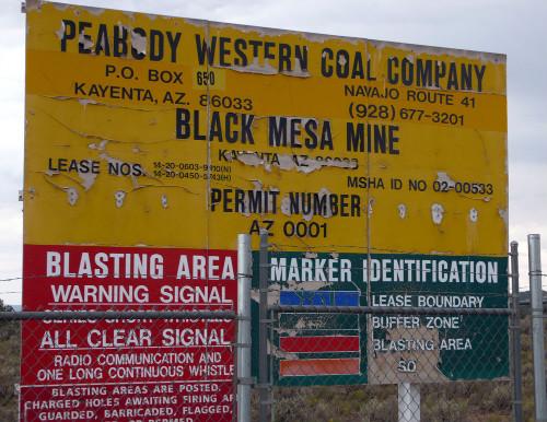 Black mesa strip mine